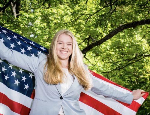 Paula Markus ist PPP-Junior-Botschafterin in den USA