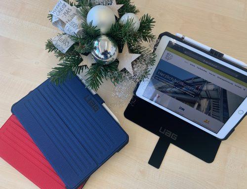 Bescherung am MGG: Die iPads sind da!