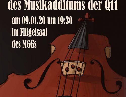 Konzert des Musikadditums der Q11