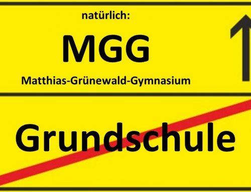Anmeldung am MGG