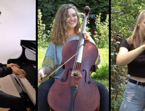 Begeisternde Klassik – begeisterte Musiker: Paleso-Trio am MGG