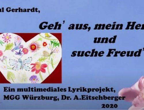 """""""Geh' aus, mein Herz, und suche Freud"""" – ein multimediales Lyrikprojekt"""
