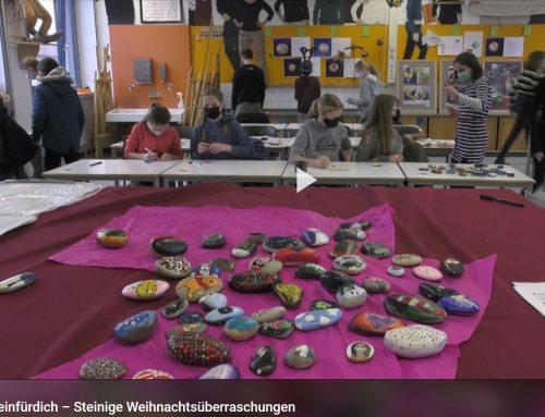 TV Mainfranken berichtet über gelungenes Projekt des MGG: #mainsteinfürdich